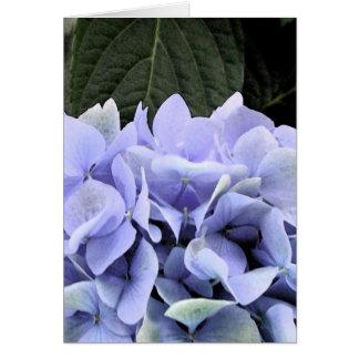 Watercolor Hydrangea Blank Inside Card
