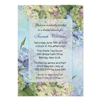 Watercolor Hydrangea - Bridal Shower Invitations