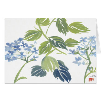 Watercolor Hydrangea Notecard