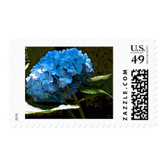 Watercolor Hydrangea Stamp