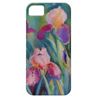 Watercolor Iris by Sue Ann Jackson iPhone SE/5/5s Case