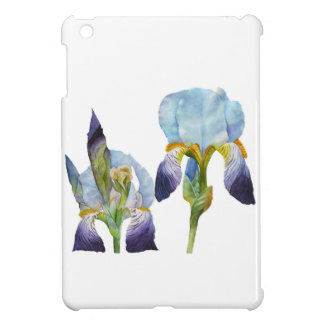 Watercolor Irises Case For The iPad Mini