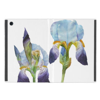 Watercolor Irises Cover For iPad Mini