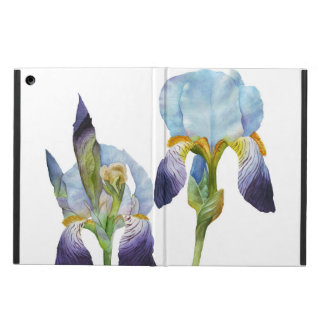 Watercolor Irises iPad Air Cover