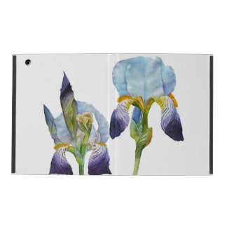Watercolor Irises iPad Cover