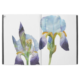 "Watercolor Irises iPad Pro 12.9"" Case"