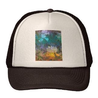 Watercolor Irises Trucker Hat