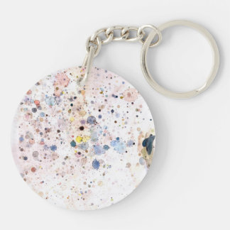 Watercolor Keychain