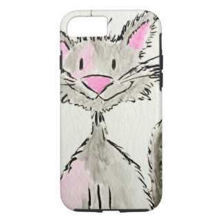 Watercolor Kitty Cat iPhone 7 Case