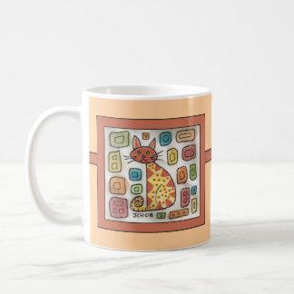 Watercolor Kitty Classic White Coffee Mug