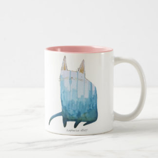 Watercolor Kitty Mug | Edgar