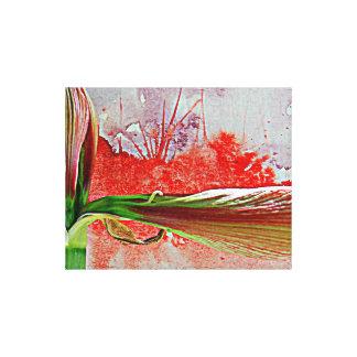 Watercolor Landscape Backdrop Canvas Print