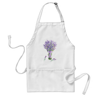 Watercolor Lavender Apron