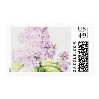 Watercolor Lavender Lilac Postage