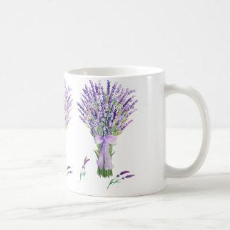 Watercolor lavender Mug