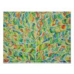 Watercolor Leaf Photo Print