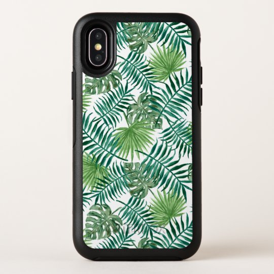 Watercolor leaves pattern Samsung S10 Case