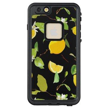 Watercolor Lemon & Leaves 2 LifeProof FRĒ iPhone 6/6s Plus Case