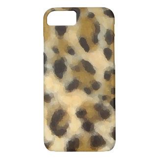 Watercolor Leopard Print iPhone 7 Case (Case-Mate)