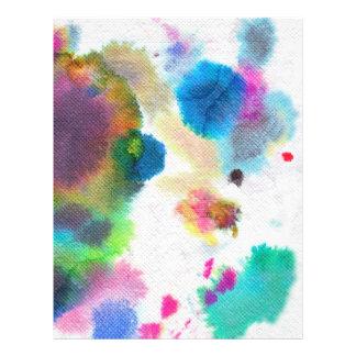 Watercolor Letter Paper! Custom Letterhead
