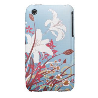 Watercolor Lilies iPhone 3gs Case