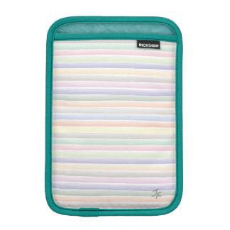 Watercolor lines sleeve for iPad mini