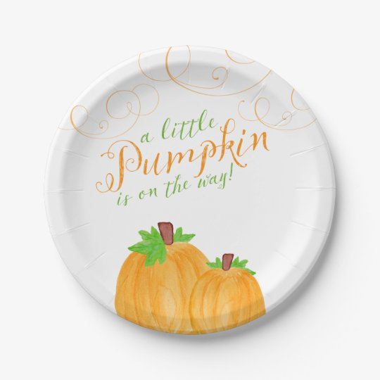Baby In Pumpkin Cake