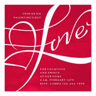 WATERCOLOR LOVE | VALENTINE'S DAY PARTY INVITATION