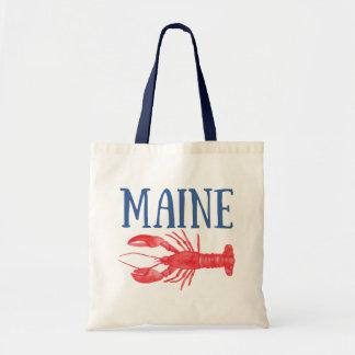 Watercolor Maine Lobster Tote Bag