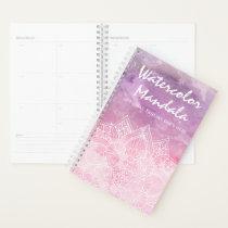 Watercolor Mandala Holistic Healing & Spiritual Planner
