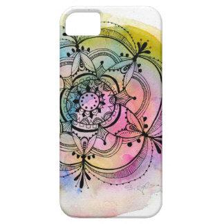 Watercolor Mandala - phone case - stephanie corfee iPhone 5 Cases