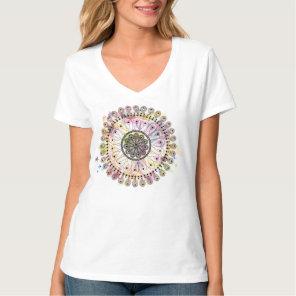 Watercolor Mandala T-Shirt