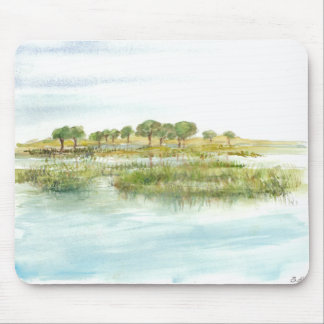 Watercolor Marsh Mouse Pad