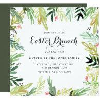 Watercolor Meadow Easter Invite
