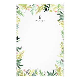 Watercolor Meadow Stationery