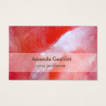 Watercolor Modern Business Card