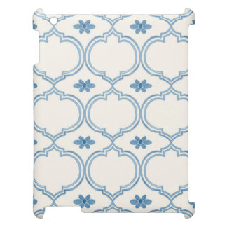 Watercolor Moroccan Quatrefoil Vintage Pattern Case For The iPad 2 3 4