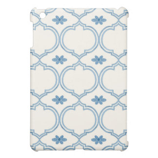 Watercolor Moroccan Quatrefoil Vintage Pattern Case For The iPad Mini