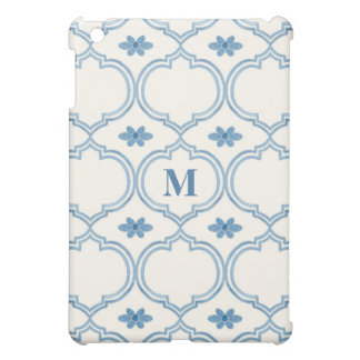 Watercolor Moroccan Quatrefoil Vintage Pattern Cover For The iPad Mini