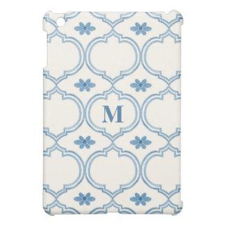 Watercolor Moroccan Quatrefoil Vintage Pattern Cover For The iPad Mini