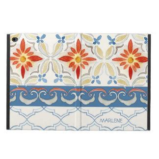 Watercolor Moroccan Quatrefoil Vintage Pattern Powis iPad Air 2 Case