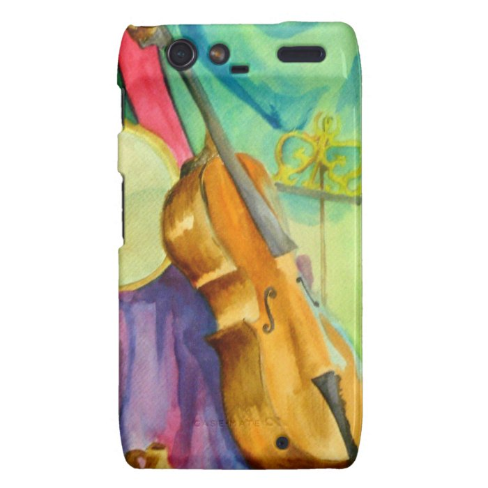 Watercolor Music Droid RAZR Cover