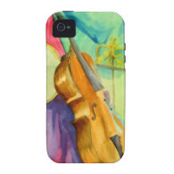Watercolor Music iPhone 4 Cover