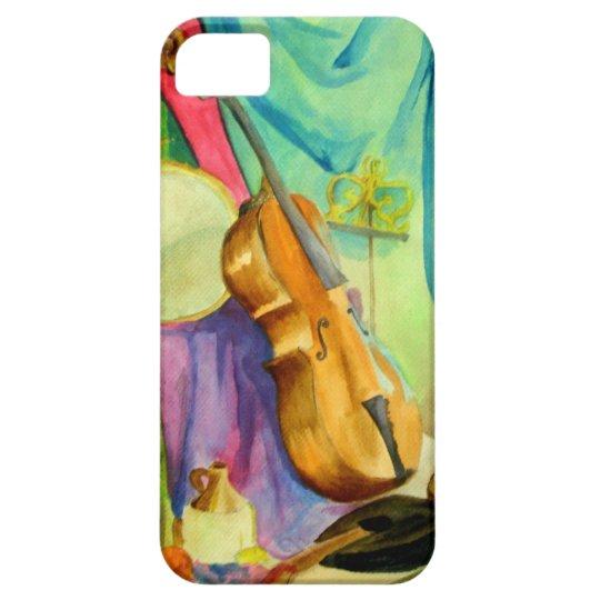 Watercolor Music iPhone SE/5/5s Case