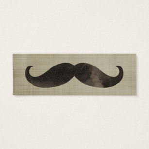 Watercolor Mustache