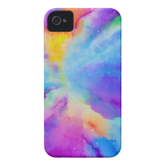 Watercolor Nebula iPhone 4 Case-Mate Case