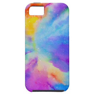 Watercolor Nebula iPhone SE/5/5s Case