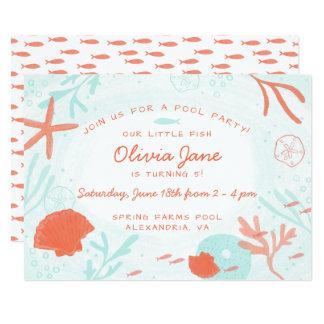 Watercolor Ocean Birthday Card