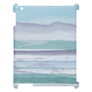 Watercolor Ocean Stripe iPad Cover by Case Smart
