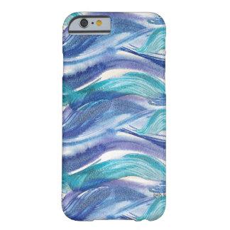 Watercolor Ocean Waves iPhone 6 case